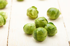 Brussels sprouts closeup Royalty Free Stock Photo