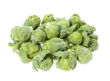 Brussels sprouts compromised Stock Image
