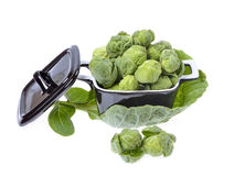 Brussels sprouts compromised Royalty Free Stock Photos