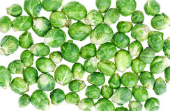 Brussels sprouts, food background Stock Photo