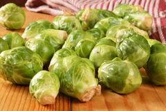 Brussels sprouts Royalty Free Stock Image