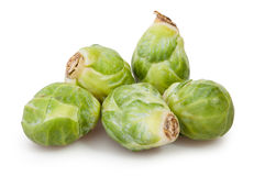 Brussels sprouts group Royalty Free Stock Images