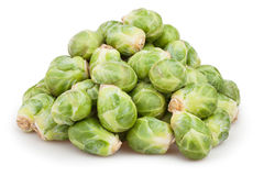 Brussels sprouts heap Royalty Free Stock Photo