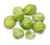 Brussels sprouts 1 Royalty Free Stock Photos