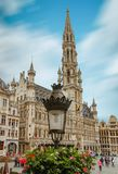 brussels square of grote markt Stock Image