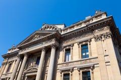 Brussels Stock Exchange. The Brussels Stock Exchange (Bourse de Bruxelles / Beurs van Brussel Royalty Free Stock Photos