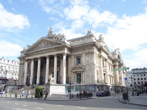 Brussels Stock Exchange Stock Photography