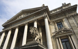 Brussels Stock Exchange Stock Photos