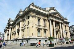 Brussels Stock Exchange (Belgium) Royalty Free Stock Images