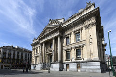 Brussels Stock Exchange Stock Images