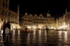 brussels stort nattställe Royaltyfri Foto