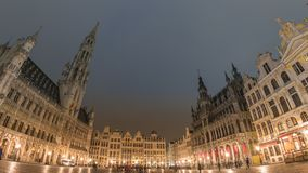 Brussels Time Lapse stock footage