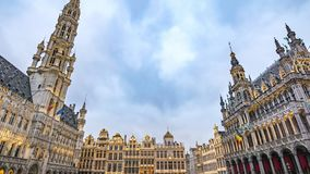 Brussels Time Lapse stock video