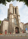 Brussels - tower of Saint Michael s Cathedral Royalty Free Stock Photo