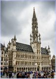 Brussels, Belgium. The town hall Stock Photo