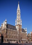 Brussels Town Hall. Stock Images