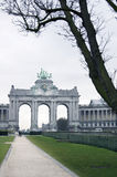 Brussels, Triumphal arch Royalty Free Stock Image