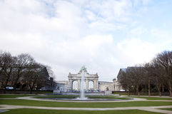 Brussels - Triumphal arch Royalty Free Stock Images