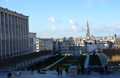 Brussels view Royalty Free Stock Photos