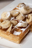 Brussels Waffle Royalty Free Stock Images