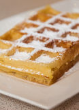 Brussels Waffle Stock Photo