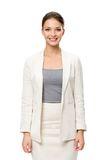 Brustbild des weiblichen Geschäftsmannes Lizenzfreie Stockfotografie