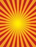 Brusten radiell sol (den brustna stjärnan) Royaltyfri Bild