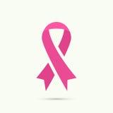 Brustkrebs-Bewusstseinsband Stockfotos