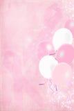 Brustkrebs-Bewusstseinsfarbbänder Stockfoto