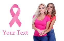 Brustkrebs-Bewusstseinsgesundheitskonzept Stockbilder