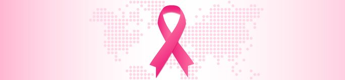 Brustkrebs-Sensibilisierungskampagnekonzept Oktober-Monat stock abbildung