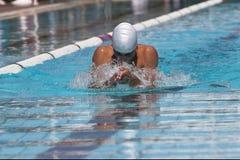 Brustschwimmen Lizenzfreies Stockbild