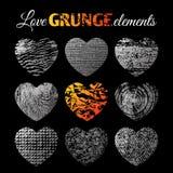 Brutal grunge background Stock Image