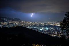 Brutal lightning royalty free stock images