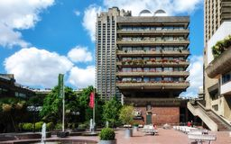 Brutalist architecture Stock Photography