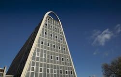 The brutalist & modernist `Toast Rack` building, formerly known. The brutalist & modernist `Toast Rack` building, formerly known as the Hollings Building in Stock Image