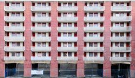 Brutalistarkitekturbyggnad i London Fotografering för Bildbyråer