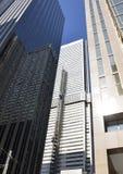 Brutally högväxt byggnader i Toronto Royaltyfria Bilder