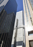 Brutally tall buildings in Toronto Royalty Free Stock Images