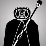 Brutalny niedźwiedź Zdjęcia Stock