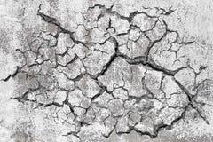 Bruten betongvägg för Grunge fotografering för bildbyråer