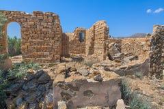 Bruten forntida byggnad Arkivbilder