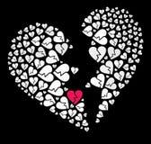 Bruten hjärta Royaltyfri Bild
