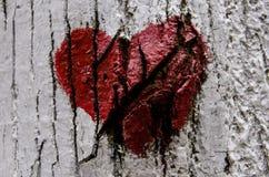 Bruten hjärta Arkivfoton