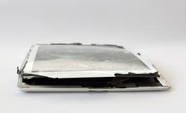 Bruten mobil enhet arkivbild