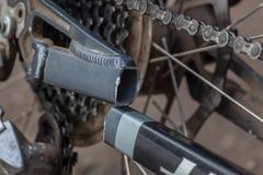 Bruten ram för cykel Arkivfoton