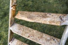 Bruten stegedäckmönster Royaltyfria Bilder