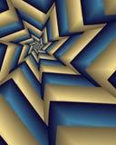 bruten stjärna stock illustrationer