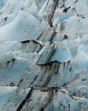 Bruten svart line upglaciäris Arkivfoto