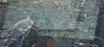 Brutet exponeringsglas, kan användas som bakgrund Royaltyfri Fotografi